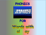 "Journeys 2nd Lesson 12 Jeopardy Phonics PPT for ""Ah, Music!"""