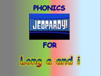 """Journeys 2nd Lesson 03 Jeopardy Phonics PPT for """"Dogs"""""""