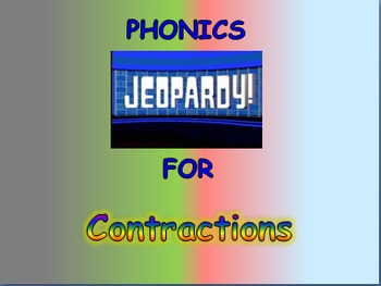 """Journeys 2nd Lesson 10 Jeopardy Phonics PPT for """"Jellies:"""