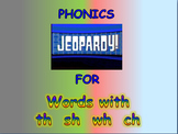 "Journeys 2nd Lesson 08 Jeopardy Phonics PPT for ""Super Storms"""