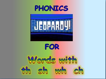 """Journeys 2nd Lesson 08 Jeopardy Phonics PPT for """"Super Storms"""""""