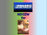 """Journeys 2nd Lesson 14 Jeopardy Review PPT for """"Helen Keller"""""""