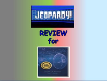 "Journeys 2nd Lesson 10 Jeopardy Review PPT for ""Jellies:The Life of a Jellyfish"""