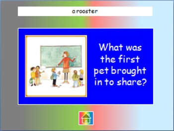 """Journeys 2nd Lesson 05 Jeopardy Review PPT for """"Teacher's Pets"""""""