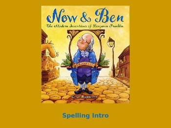 "Journeys 2nd Lesson 30 Spelling Intro PPT for ""Now & Ben"""