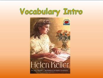 """Journeys 2nd Lesson 14 Vocab Intro PPT for """"Helen Keller"""""""