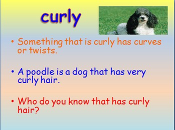"""Journeys 2nd Lesson 01 Vocab Intro PPT for """"Henry and Mudge"""""""