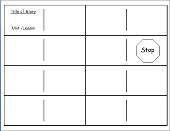 Journeys Reading Series Second Grade Vocabulary Dominoes Template