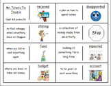 """Journeys 2nd Lesson 16 Vocabulary Dominoes for """"Mr. Tanen's Tie Trouble"""""""