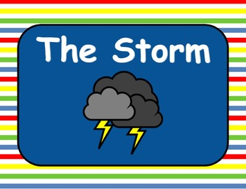 Journeys Reading Series The Storm Focus Wall SmartBoard