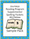 Spelling Program Gr 5 Sample compliments Journeys reading program