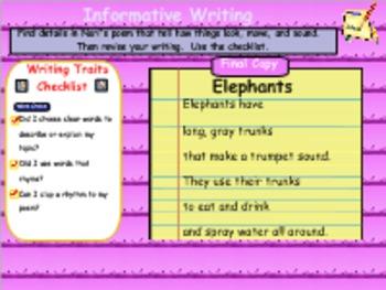 Journeys Reading Unit 2 Lesson 7 Grade 1 Smartboard Lesson