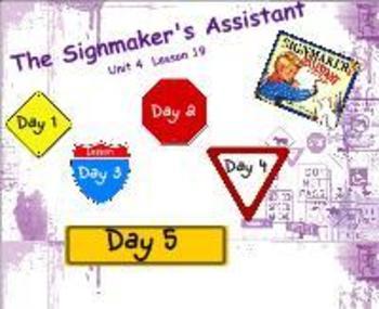 Journeys Reading Unit 4 Lesson 19 Smartboard Lessons