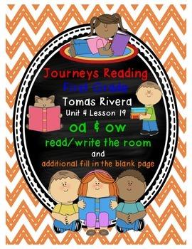 Tomas Rivera oa ow read/write the room Journeys Reading Unit 4 Lesson 19
