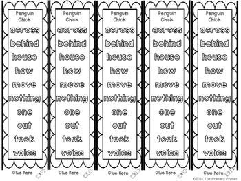 Journeys SECOND Grade  Sight Word Bracelets/Bookmarks: The BUNDLE