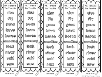 Journeys SECOND Grade  Sight Word Bracelets/Bookmarks:  Unit FOUR