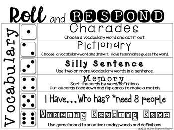 Journeys SECOND Grade Vocabulary Cards:  Unit THREE