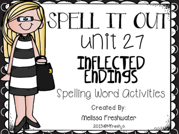 Journeys SPELL IT OUT #27 Inflected Endings (er/est) Printable Packet
