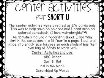 Journeys SPELL IT OUT! Unit 1 BUNDLE Printables & Center Activities