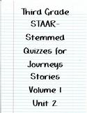 Journeys STAAR Quizzes for Unit 2