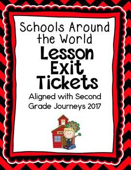 Journeys-Schools Around the World Exit Tickets