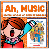 Ah, Music! Second Grade NO PREP Supplemental Printables