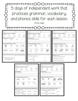 Journeys Second Grade Bellwork and Task Cards (Unit One)
