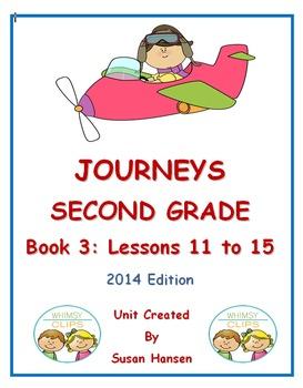 Journeys Second Grade Book 3 Activities