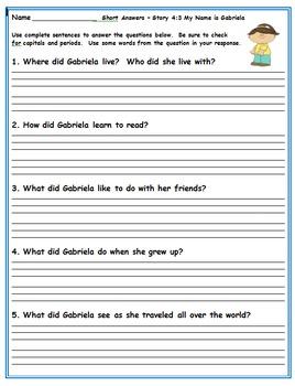 Journeys Second Grade Book 4 Activities