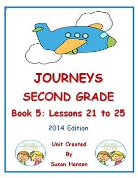 Journeys Second Grade Book 5 Activities