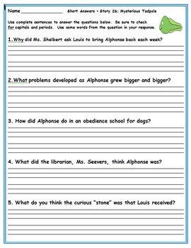 Journeys Second Grade Book 6 Activities