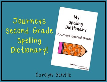 Journeys Second Grade Dictionary