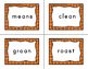 Journeys Second Grade Differentiated Word Sort Cards Unit 4