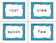 Journeys Second Grade Differentiated Word Sort Cards Unit 6