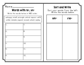 Journeys Second Grade Differentiated Word Sorts Word Work Lesson 24
