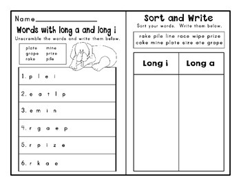 Journeys Second Grade Differentiated Word Sorts Word Work Lesson 3