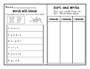 Journeys Second Grade Differentiated Word Sorts Word Work Lesson 5