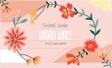 Journeys Second Grade Digital Word Wall