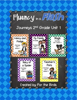 Journeys Second Grade Fluency in a Flash Unit 1