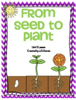 Journeys Second Grade From Seed to Plant