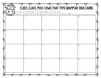 Journeys Second Grade Grammar Task Cards (Unit Three)