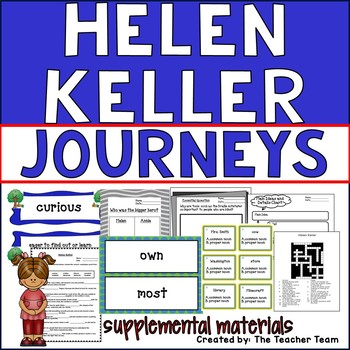 Helen Keller Journeys Second Grade Supplemental Materials