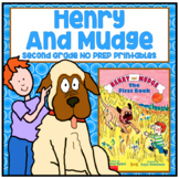 Henry and Mudge Second Grade NO PREP Supplemental Printables