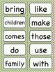 Journey's 2nd Grade High Frequency and Vocabulary Words for Word Wall: Polka Dot