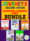 Journeys Second Grade Unit 1 Homework/Morning Work Printab