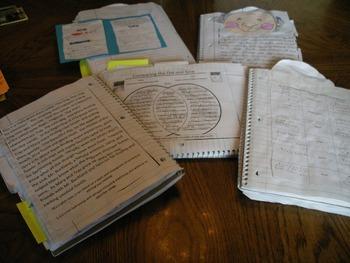 Journeys Second Grade Interactive Notebook Unit 6