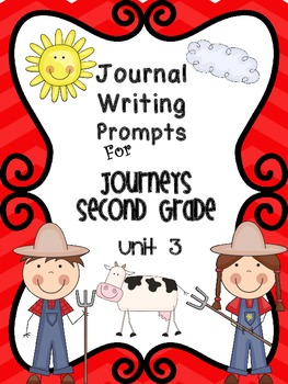Second Grade Journal Writing Prompts  Unit 3