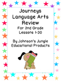 Journeys Second Grade Language Arts Review