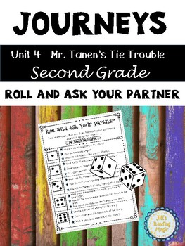 Journeys Second Grade Mr. Tanen's Roll And Ask Your Partner