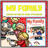 Journeys Second Grade - My Family Unit 1 Lesson 2 NO PREP Printables